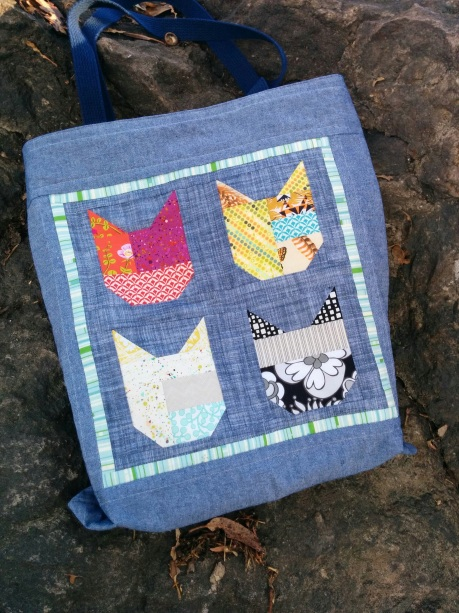 Cat Tote Back